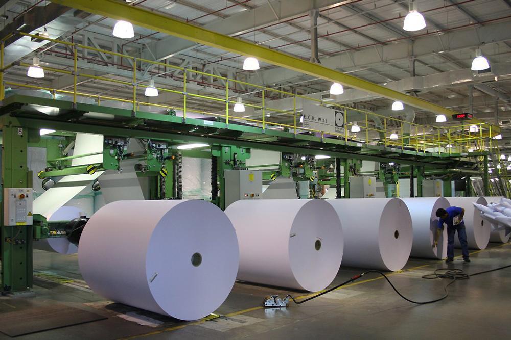 Resultado de imagem para industria de papel